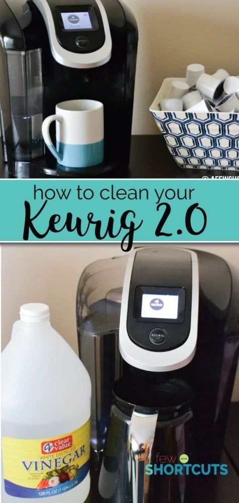 How To Clean Your Keurig 2 0 In A Few Easy Steps Cleaning