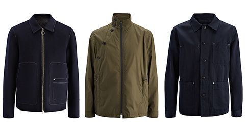 <p>Presented in classic navy blue and army green this season's cool cotton jackets from Joseph promises to be your go-to off duty cover-up. The perfect blend of durable donkey jacket and denim jacket the Abbots comes in a durable cotton-linen fabrication perfect for the warmer months. Featuring various patch pockets - with dark metal rivets, and cool details these casual jackets for men takes you into the spring. </p>
