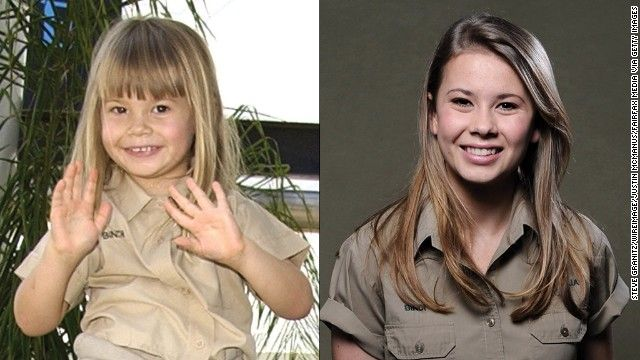The late Steve Irwin's teen daughter, Bindi, is growing up to be quite the conservationist. She's also advising girls her age to dress more ...