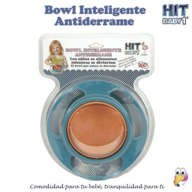 El Bowl Inteligente Antiderrame es un producto de fácil uso, que evitará muchos ratos de angustia a la hora de alimentar a tu hijo, sobretodo porque algunos niños les encanta jugar mientras se alimentan, por ello creamos un producto de fácil y divertido uso para tus hijos. #alimentos #niños #comida #niñas #alimentación #bowl #antiderrame http://bloghitbabyone.com/2015/02/25/el-bowl-inteligente-antiderrame/