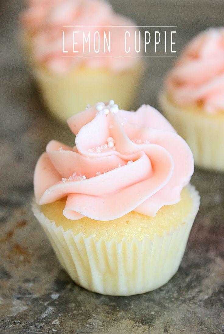 Dough Puncher: Lemon Cuppies: Best lemon cupcake recipe I've tried so far! http://dough-puncher.blogspot.ca/2013/01/lemon-cuppies.html