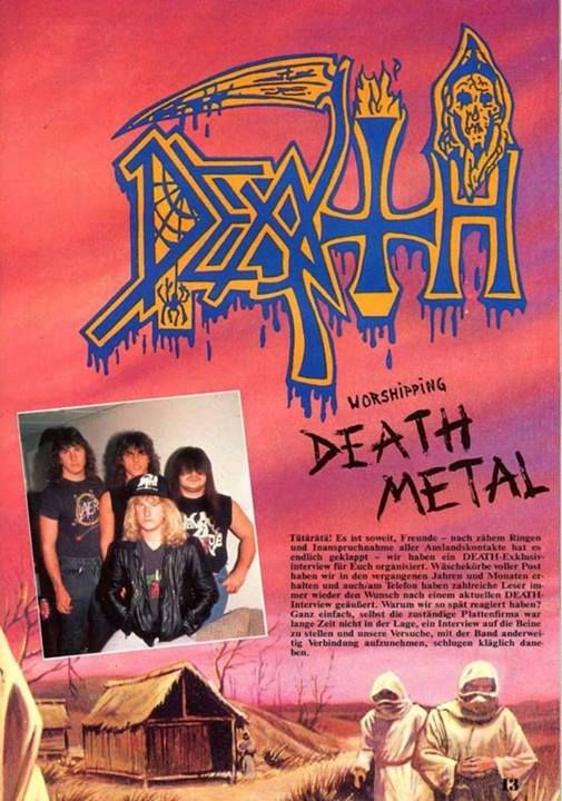 """Worshipping DEATH METAL"""