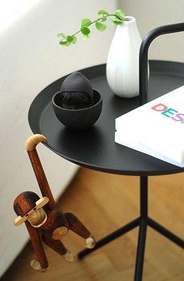 Via Emmas Designblogg | Kay Bojesen Monkey | Hay DLM Table