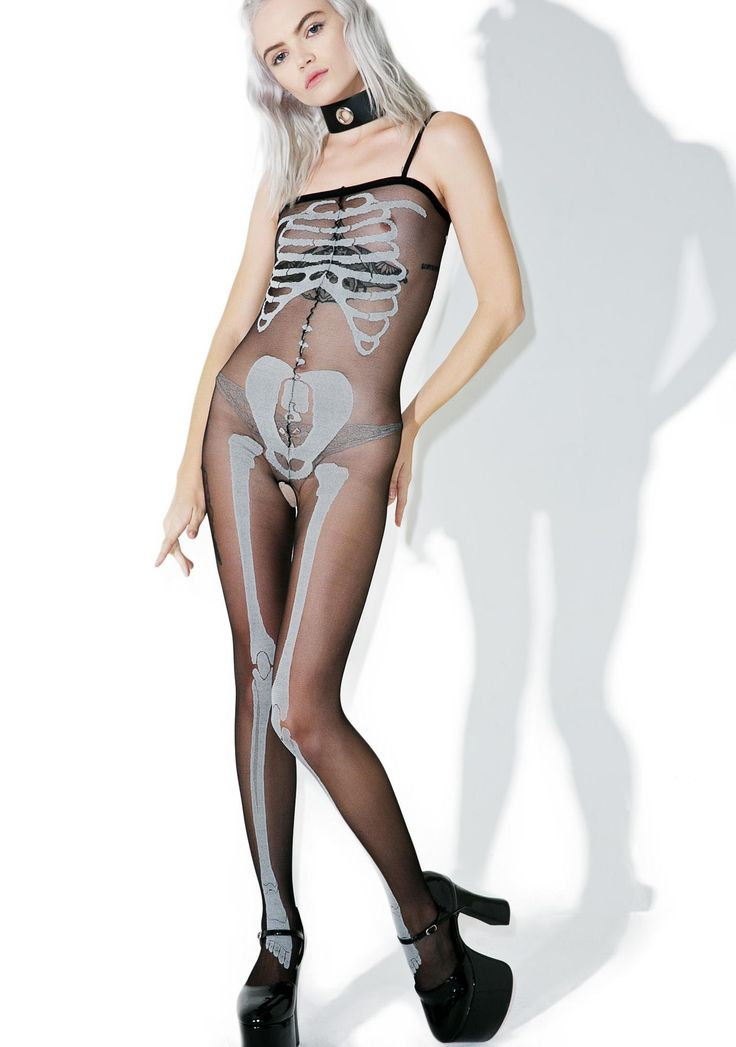 Inside Out Body Stocking