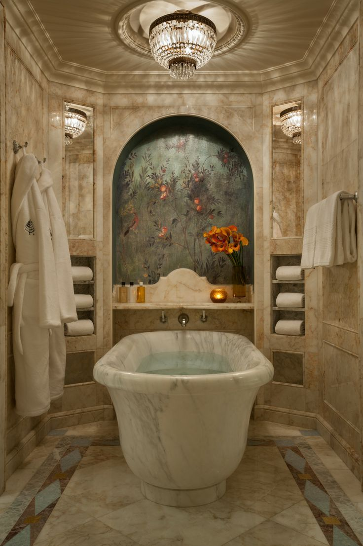 gorgeous tuscan inspired bathroom suite at the four seasons hotel lion palace st