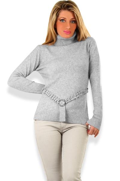 Abbigliamento da Donna  http://www.abbigliamentodadonna.it/maglione-golf-donna-morbidissimo-p-1056.html Cod.Art.001085 - Maglione golf donna morbidissimo, al tatto sembra cachmere, realizzato in tessuto misto lana elasticizzato, ideale per l'inverno e la montagna in abbinamento a un look casual anche jeans, per essere sempre alla moda con comfort e praticita'.