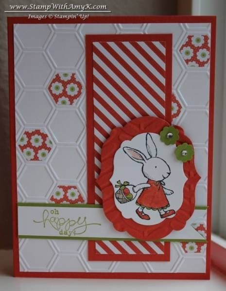 Springtime Bunny by amyk3868 - Cards and Paper Crafts at Splitcoaststampers