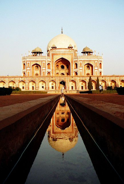 Humayun's Tomb in Delhi...and a lot of math. What strikes you first?