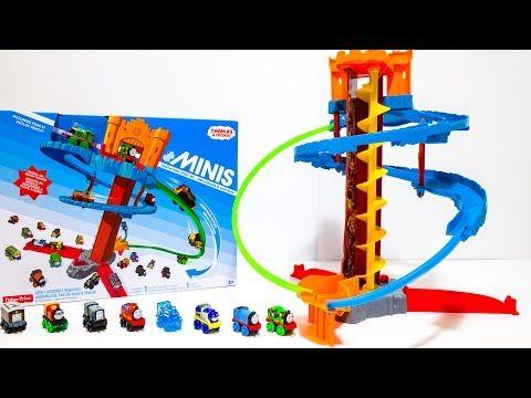 Thomas and Friends Minis Twist N Turn Stunt Set Toy Trains 미니 토마스와 친구들 장난감 기차놀이 장난감 세트 - YouTube