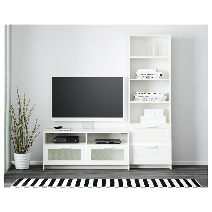 1000 ideas about tv storage on pinterest wall mounted for Commode brimnes ikea 3 tiroirs