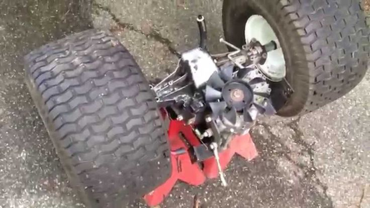 Broken Lawn Tractor Transmission : Best images about craftsman rider lt on pinterest
