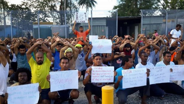 More than 400 refugees and asylum seekers told they will be forcibly removed from the old processing centre on Monday.