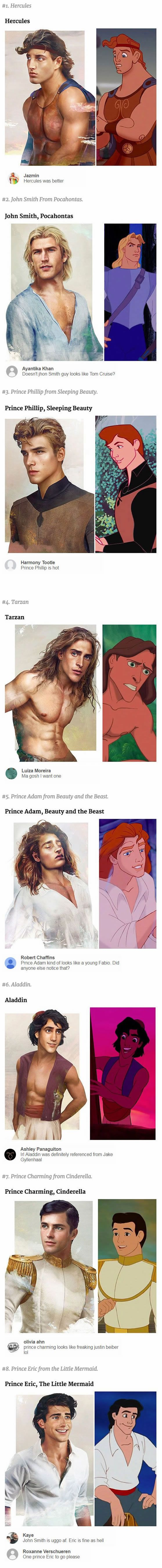 Omg it says 'One Prince Eric to go please' I CANT BREATHE