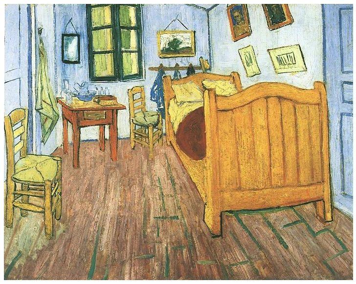 die besten 25+ van gogh bedroom painting ideen auf pinterest ... - Schlafzimmer In Arles