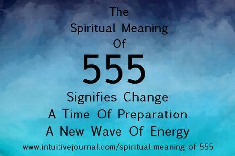 Find out the spiritual meaning of 555 and what it means for your life. If you see these repeating numbers, your angels are trying to communicate with you. Read what they want you to know.I have wr...