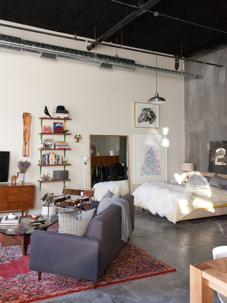 an entry from interiors yum loft spacesopen spacesmodern studio apartment ideasdecorating - Cool Studio Apartment Designs