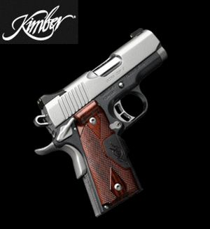 #Kimber 45 Ultra Carry. Unlike my Timex Ironman, this goes well with whatever I'm wearing. @Thomas Marban Haight's Outdoor Superstore