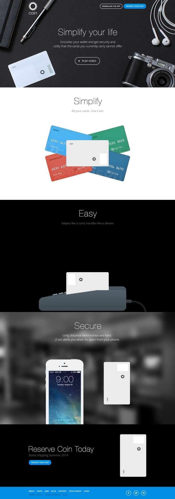 Watch this video, this may be the coolest thing ever. I bet it will be super expensive though. And I'm curious how it protects your card from being put onto someone else's account?