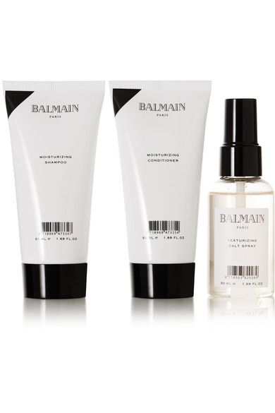 Balmain Paris Hair Couture - Moisturizing Travel Set - White