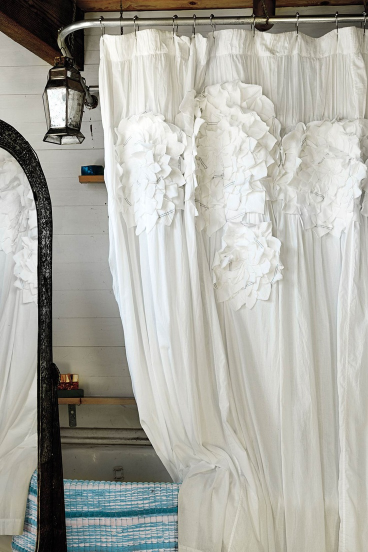 Anthropologie tender falls shower curtain - Anthropologie Tender Falls Shower Curtain