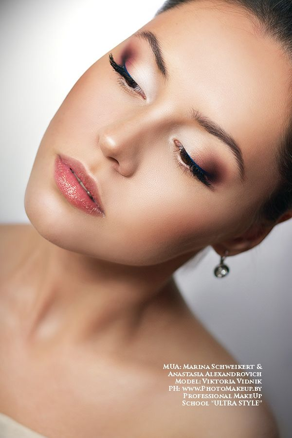 Professional Make Up School by Anastasia Aliaksandrovich www.makeup-school.by