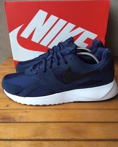 various colors 804ee 825ce Nike Pantheos Size 9 UK Mens Blue Trainer EU 44 New 916776-400 Midnight  Navy  Nike  RunningShoes