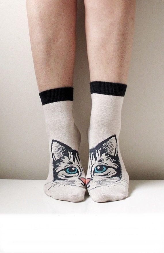 Boot Socks Women Socks Leg Warmer Christmas Socks by ScarfLovers