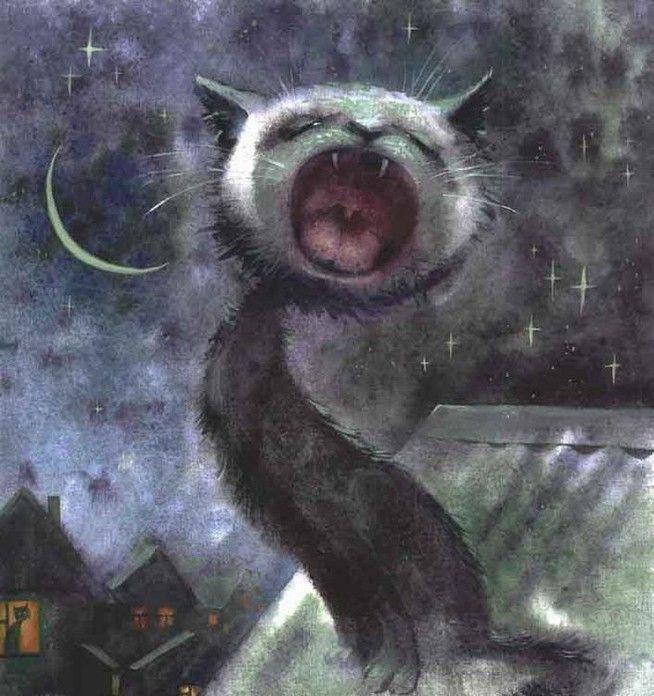 Такие разные котики: 20 забавных картин для поднятия настроения - Ярмарка Мастеров - ручная работа, handmade