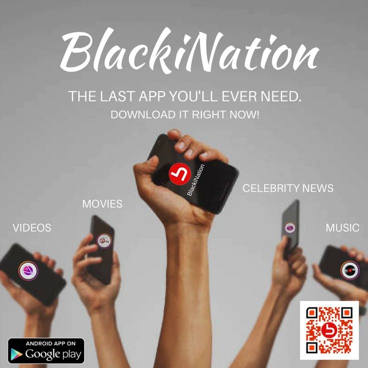 Take streaming to the next level with the BlackiNation APP!! Go ahead and  download it on Google Play! Stream unlimited movies, music, celebrity  gossip and ...