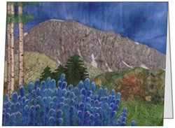 Gothic Mountain Quilt card