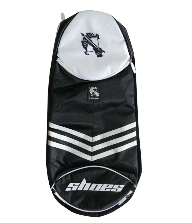 Women's Men's Badminton Equipment Bag Badminton Racket Bag BLACK