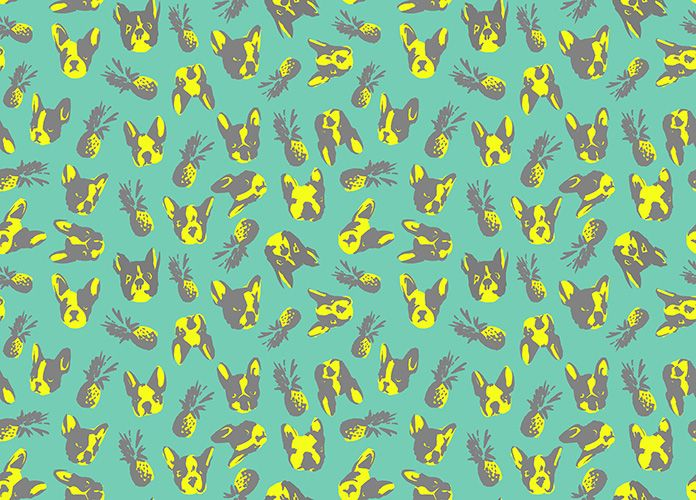 Pattern design for HOPSA on Behance