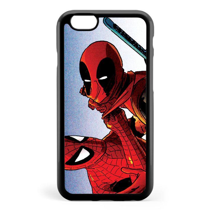 Deadpool & Spiderman Apple iPhone 6 / iPhone 6s Case Cover ISVC057