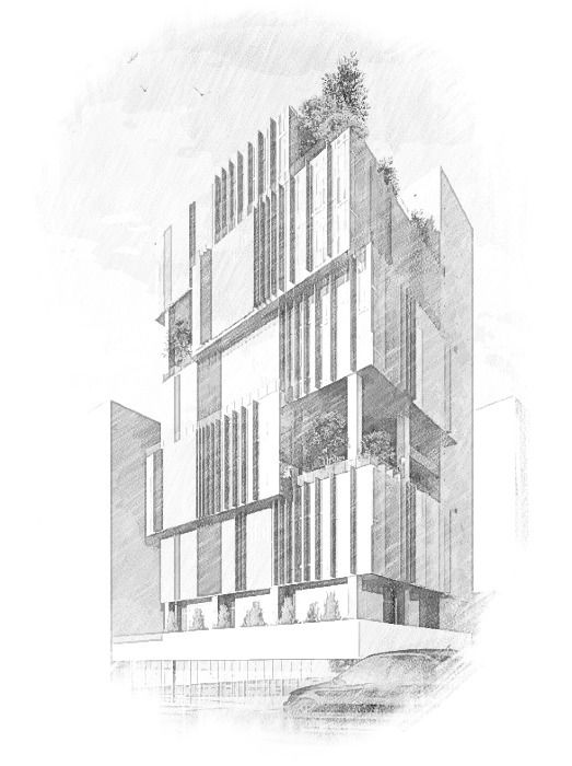 Architecture Buildings Drawings best 20+ architect drawing ideas on pinterest | people sketch