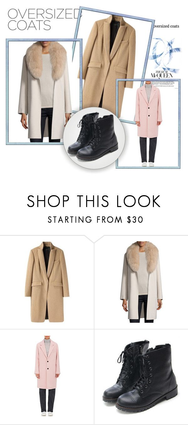 """Over Size Shoes"" by msruthtaylorbollinger ❤ liked on Polyvore featuring rag & bone, Neiman Marcus and Andersson Bell"