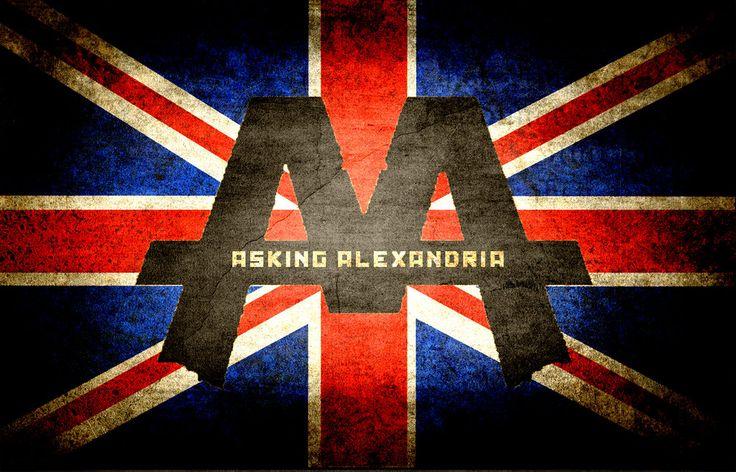 asking alexandria | Asking Alexandria wallpaper by Electricynder on deviantART