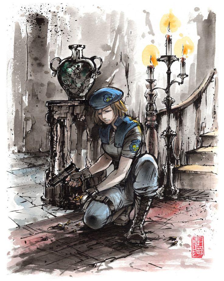 Jill from Resident Evil by MyCKs