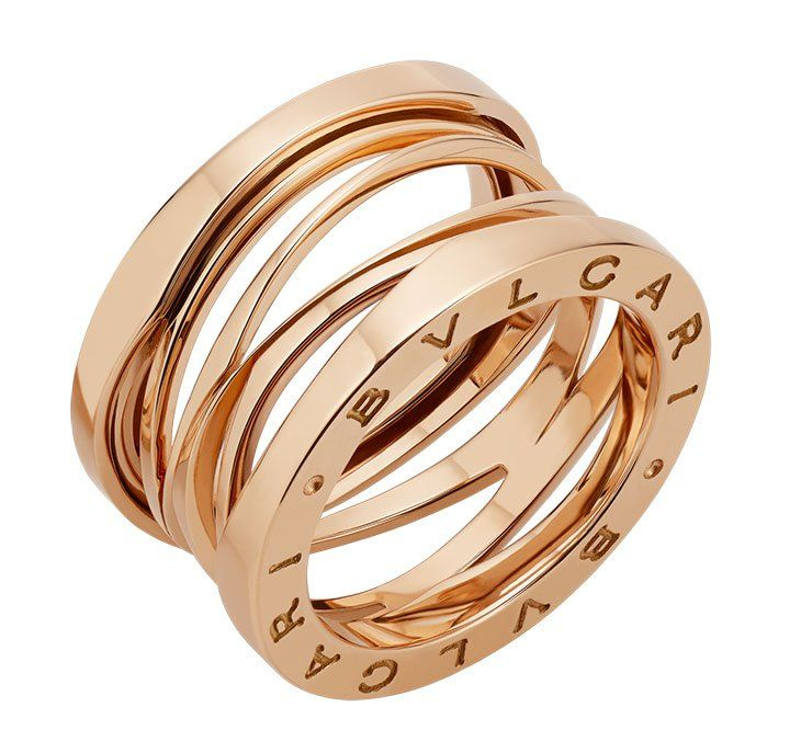 "Bvlgari ring from the new ""B.zero1 Design Legend Collection"" by Zaha Hadid."
