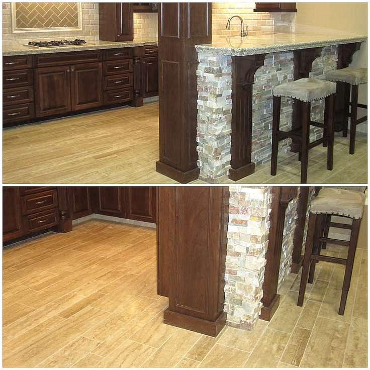 46 best images about kitchen tile ideas on pinterest Travertine kitchen floor ideas