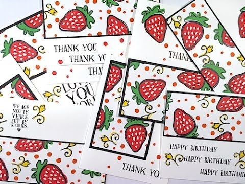 262 best Cards FLASH cardsClean and Simple images – Happy Birthday Wishes Flash Cards