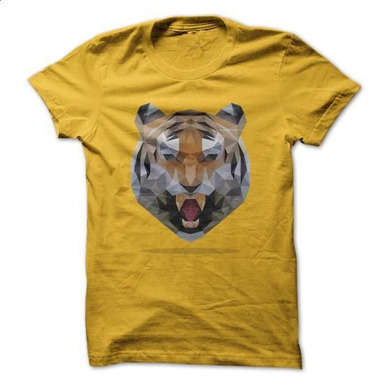 Tiger Lowpoly - #design shirts #music t shirts. I WANT THIS => https://www.sunfrog.com/Pets/Tiger-Lowpoly.html?60505