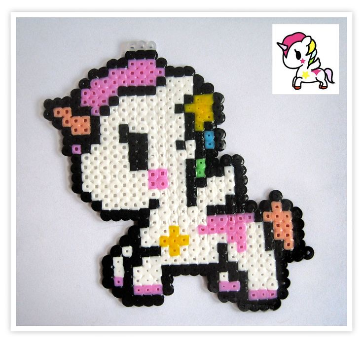 Pixel Art Shop: Unicornio Tokidoki