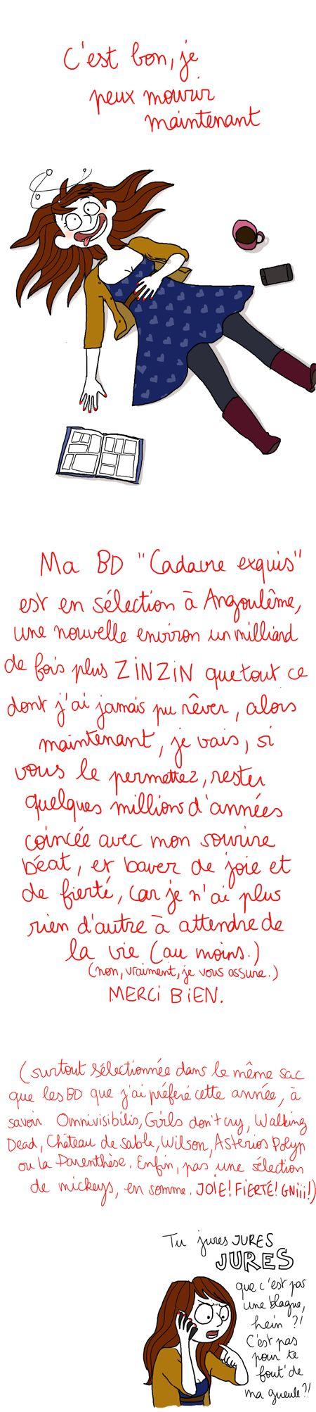 Angoulême: La minute nécessaire de Madame Jemlapète.
