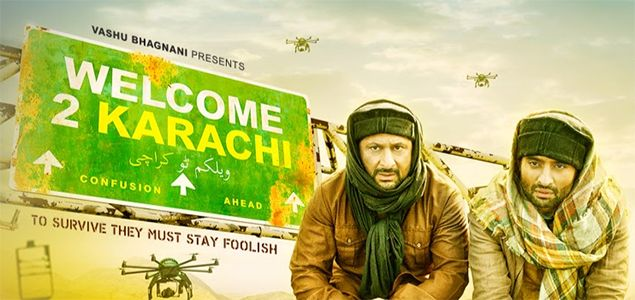 Welcome to Karachi Review #celebrities #movie