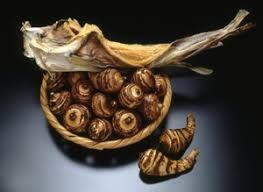 棒鱈と海老芋