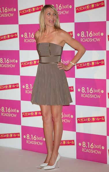 """Cameron Diaz Photos Photos - Actress Cameron Diaz attends """"What Happens In Vegas"""" Japan Premiere at the Imperial Hotel on August 5, 2008 in Tokyo, Japan. The film will open on August 16 in Japan. - """"What Happens In Vegas"""" Press Conference"""