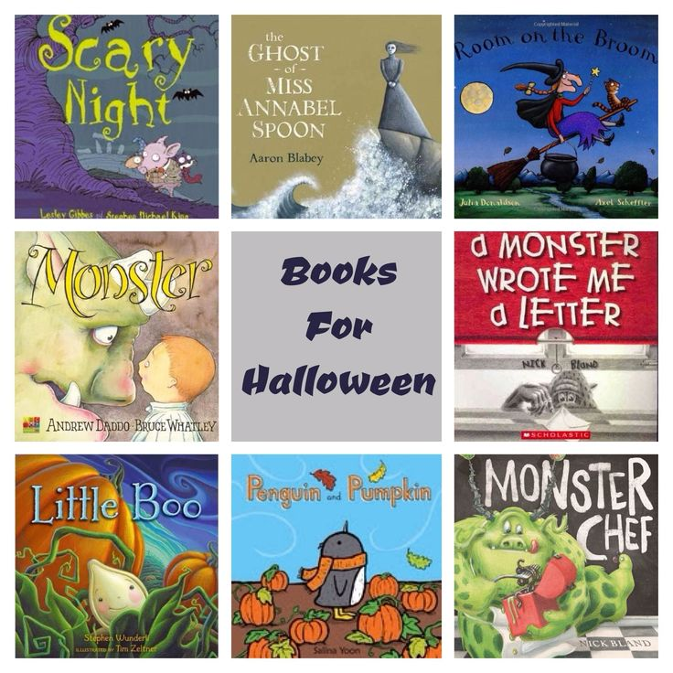 Books for Halloween- We love Scary Night and Room on the Broom is a great favourite on our 100 Stories Before School booklist.