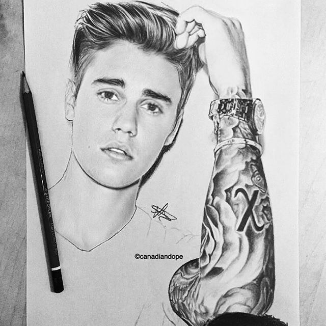 "42 Likes, 2 Comments - Art Ineffable (@art_ineffable) on Instagram: ""To all beliebers  