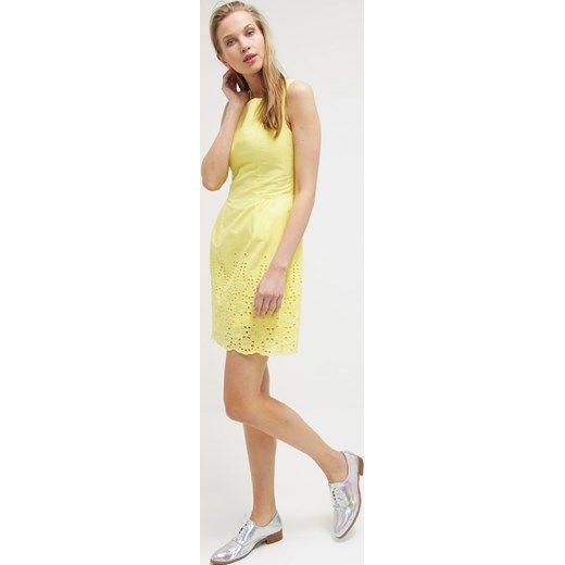 Yumi Sukienka letnia yellow zalando zolty mini