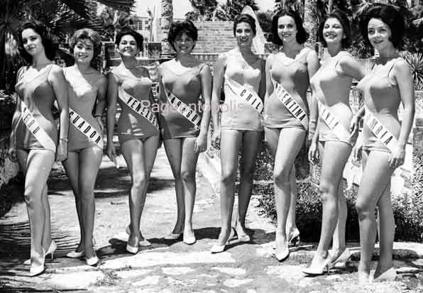 1961 Bathing Suits Changed Miss Universe Crown Pageant
